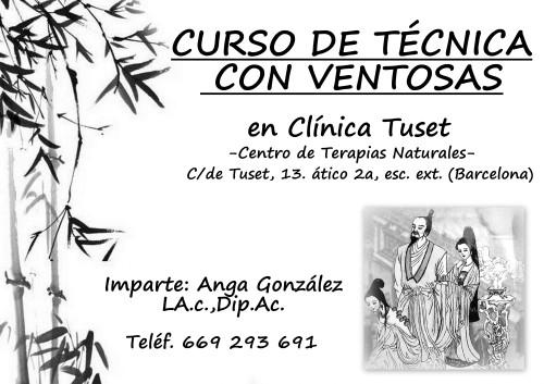 CARTEL CURSO VENTOSAS CLÍNICA TUSET2