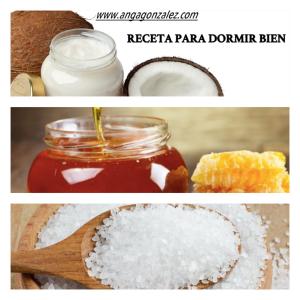 Receta para dormir bien: aceite de coco, miel y sal